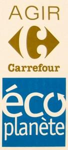 Logo Carrefour Eco Planet