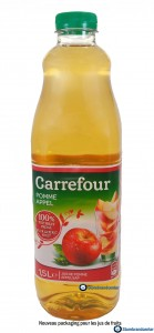Nouveau packaging mdd Carrefour