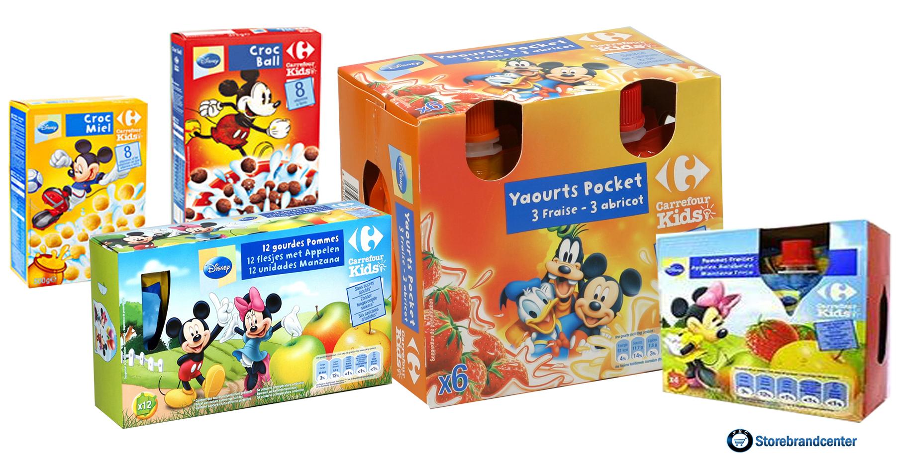 7ea6b02a8729 Nouveaux licenciés chez Carrefour.....Mickey et ses amis s en vont ...